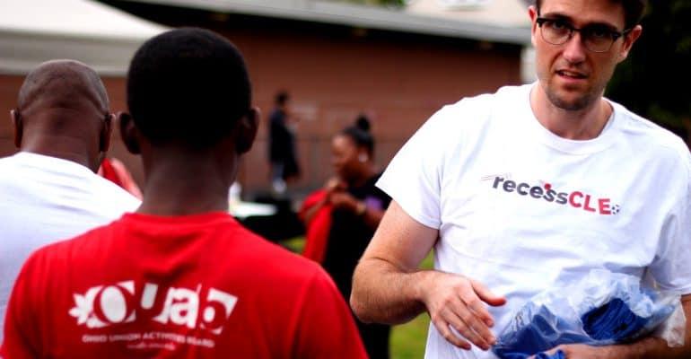 recess cleveland glenville kickball