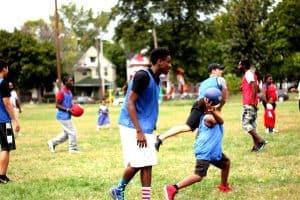 Recess Cleveland kid Dodgeball