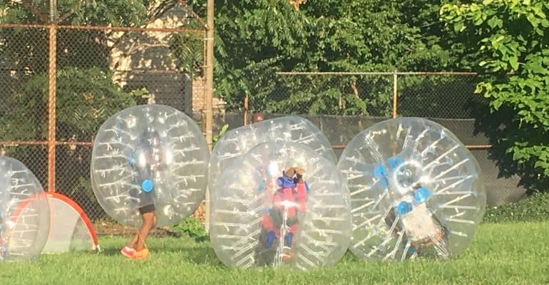 Recess Cleveland Bubble Soccer